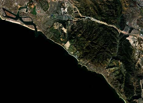 Crystal Cove aerial photo